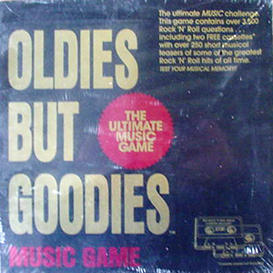 Oldies but Goodies Music Board Game