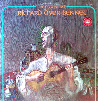 Essential Richard Dyer-Bennet - (2 LP Set)