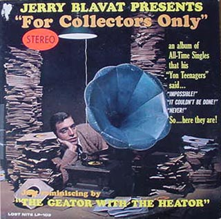 "Jerry Blavat Presents ""For Collectors Only"""