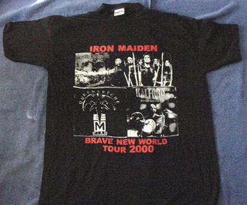 Brave New World Tour 2000 - T Shirt