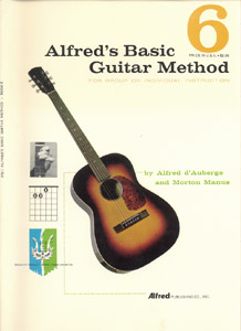 Alfred's basic guitar method # 6