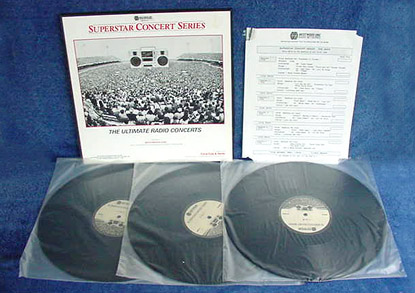 Superstar Concert Series - (3) LP Set