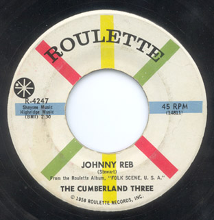 Johnny Reb / Come along Julie