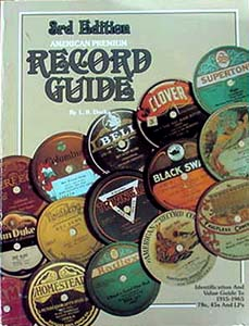 American premium record guide - 3rd edition