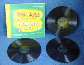 Nutcracker Suite - (3) 78 RPM Set