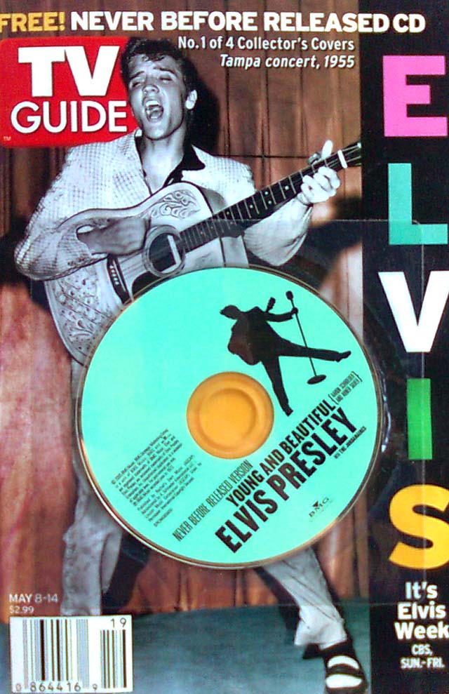 TV Guide - Elvis cover + cd