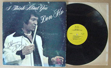 I think about you - (Autographed LP)