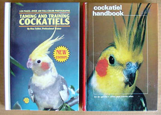 Cockatiel Training Books (2)