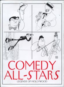 Comedy All-stars / Legends of Hollywood (5) DVD Set