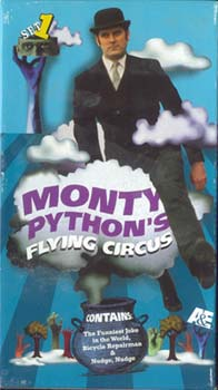 Monty Python Flying Circus - (3) VHS Tapes