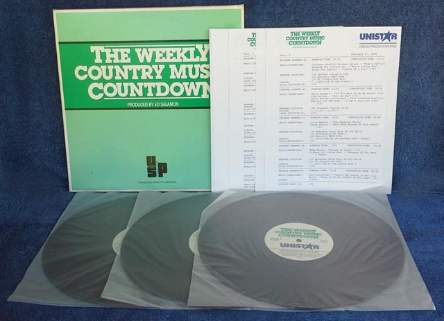 Country Music Countdown - (3) LP Set