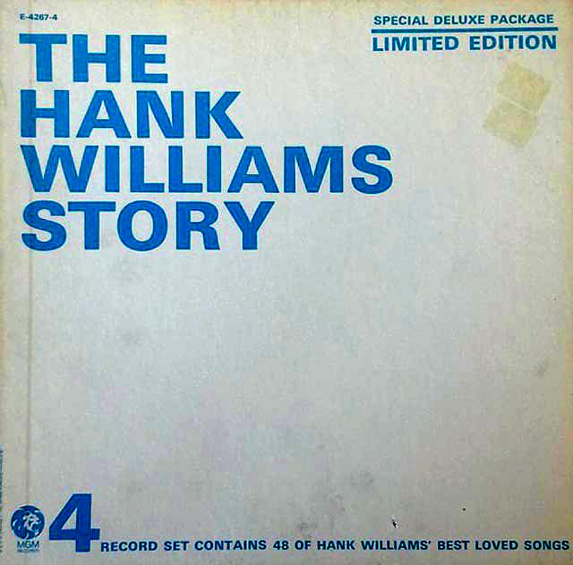 Hank Williams Story - (4) LP Box Set
