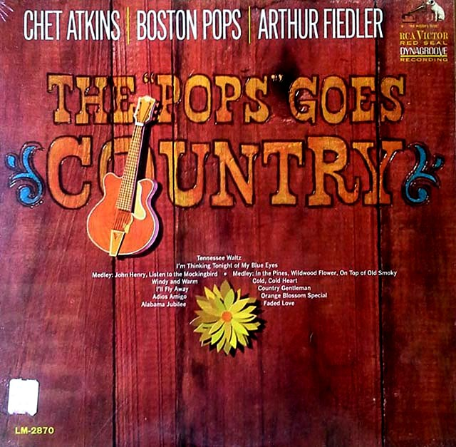 "The ""Pops"" goes country"