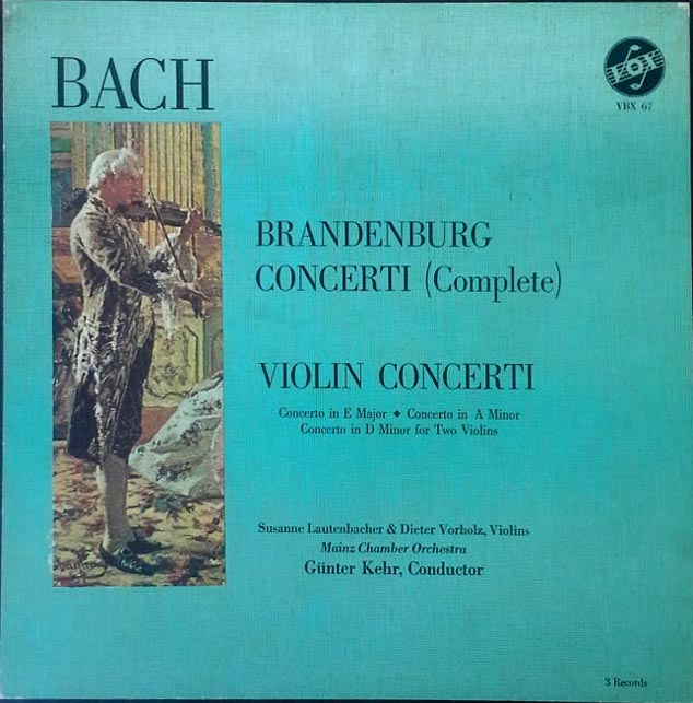 Brandenburg Concertos - (3) LP Set