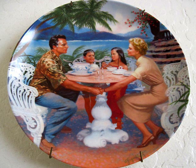 South Pacific - Collectible plate