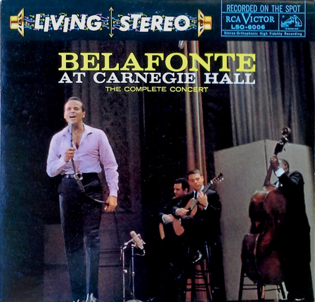 Harry Belafonte at Carnegie Hall - (2) LP Set