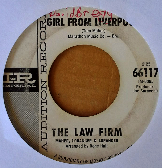 Girl from Liverpool / Love is bad