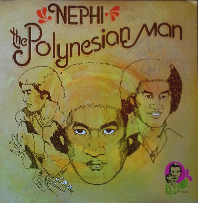 The Polynesian man