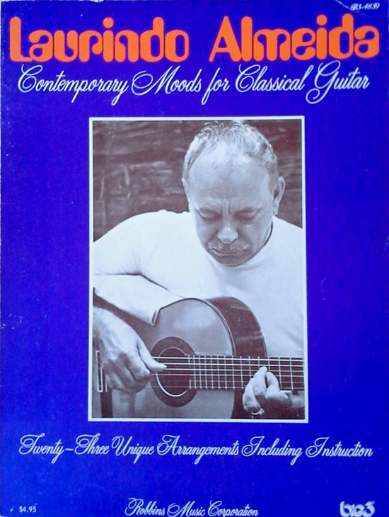 Contemporary moods for classical guitar