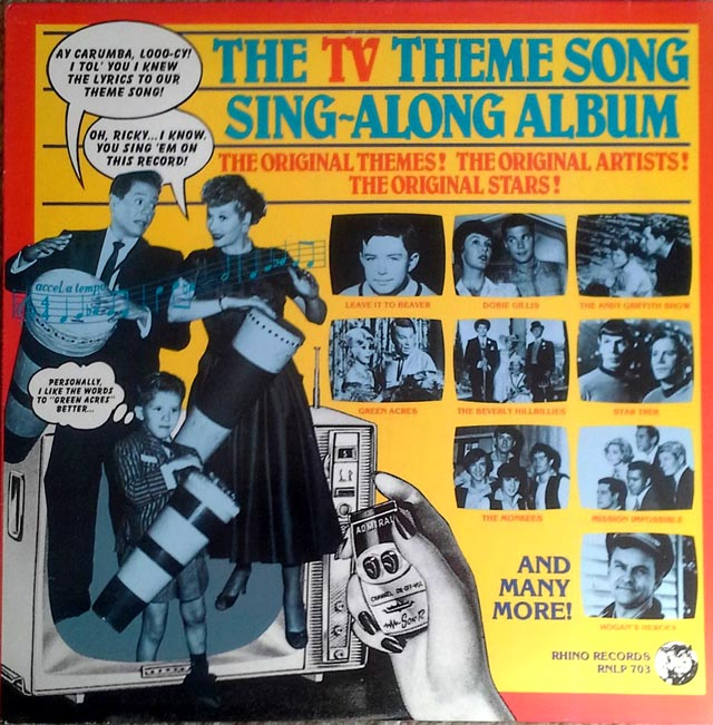 TV theme song sing-along album