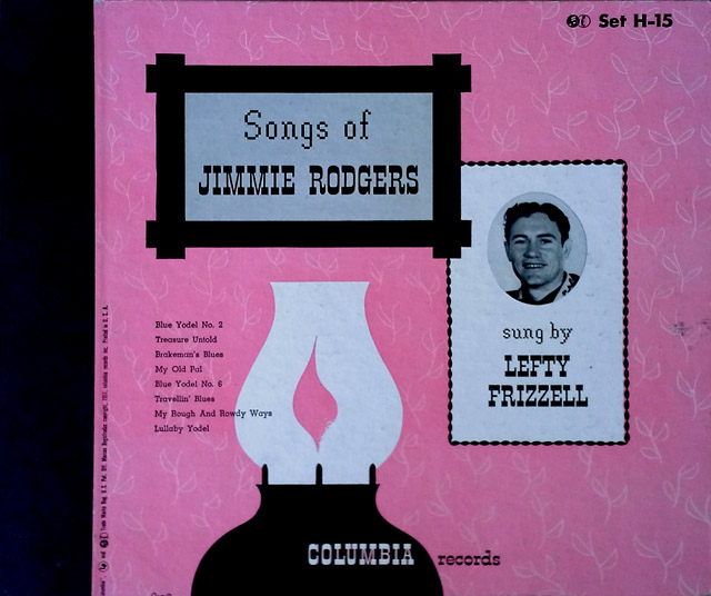 Songs of Jimmie Rodgers - (3) 78 RPM Box Set