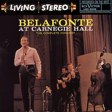 Belafonte at Carnegie Hall - Complete Concert - (2) LP set