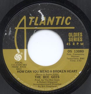 How can you mend a broken heart / Massachusetts