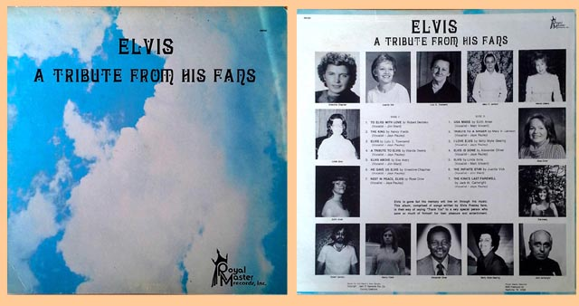 Elvis - A tribute from his fans