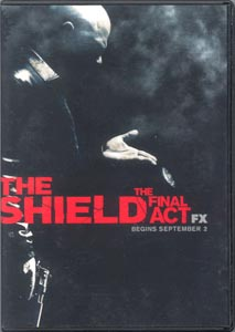 The Shield - Final Act (3) DVD Set