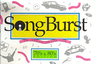 Songburst Board Game (1970's- 80's Edition)
