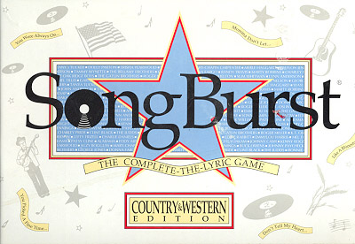 Songburst Board Game (Country & Western Edition)